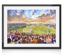 Brockville on matchday print